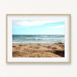 The Beach Wall Art Print