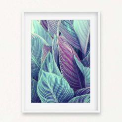 Tropical Leaves Wall Art Print