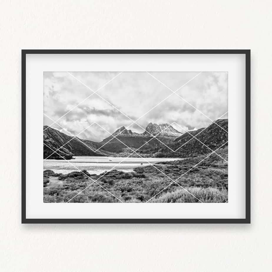 Cradle Mountain Wall Art Print