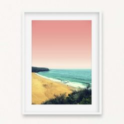 A Day At The Beach Wall Art Print