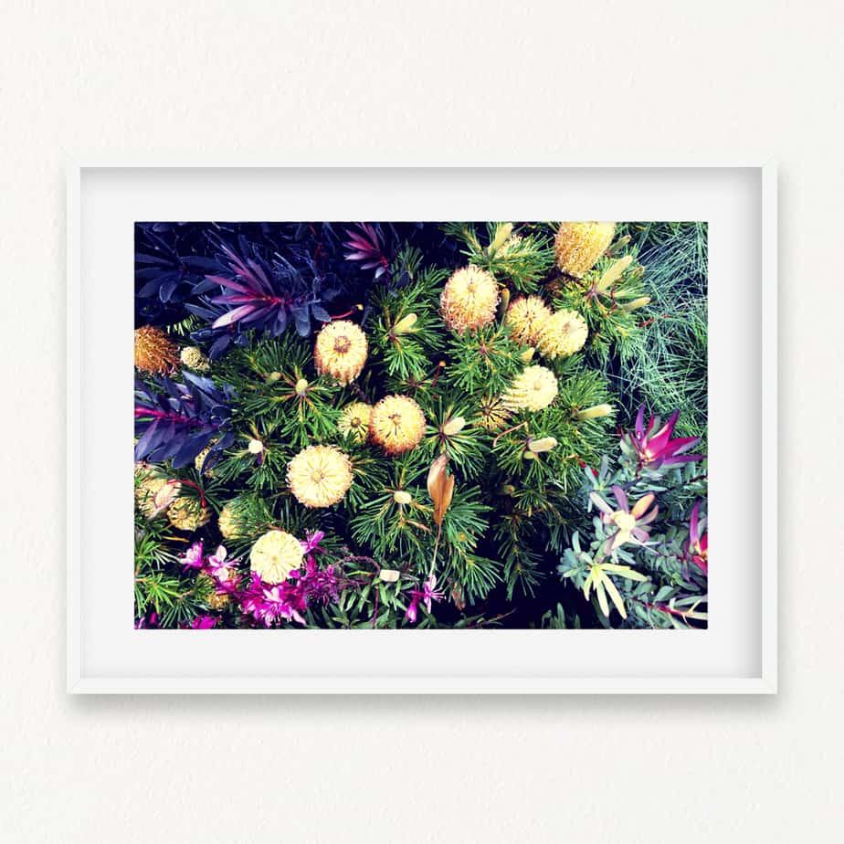 Floral Bloom Wall Art Print