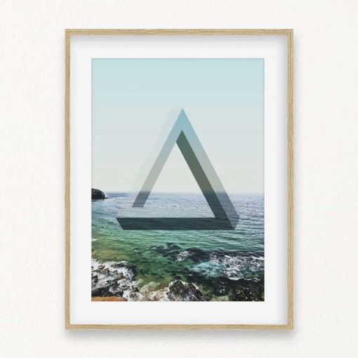 Impossible Ocean Wall Art Print