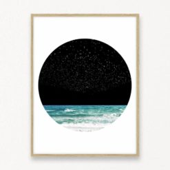 Night Sky Wall Art Print