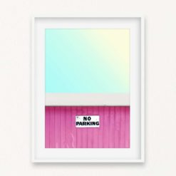 No Parking Wall Art Print