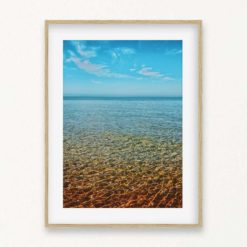 Ocean View Wall Art Print
