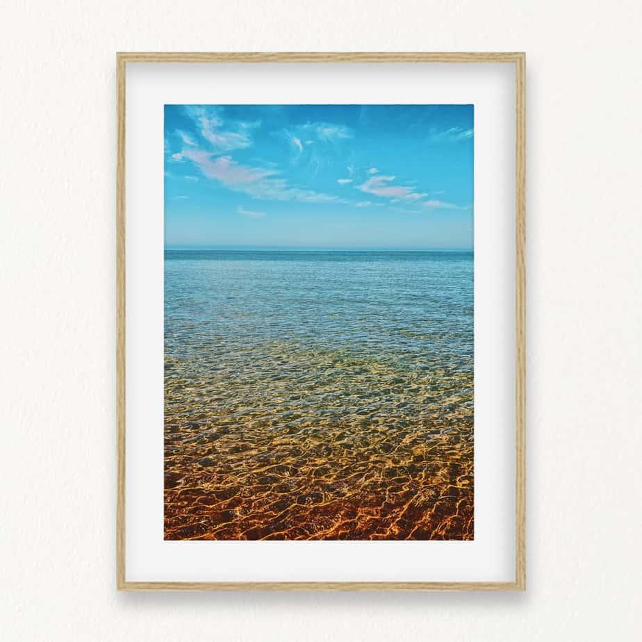 Ocean View Wall Art Print