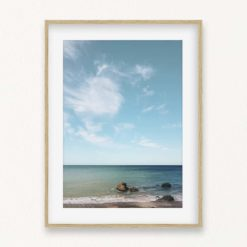 Ocean View II Wall Art Print