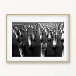 The Old Pier Wall Art Print