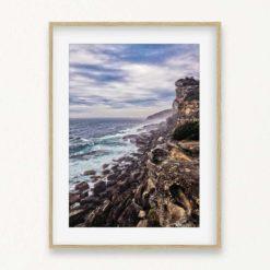 Rocky Cliffs Wall Art Print