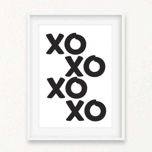 XOXO Wall Art Print