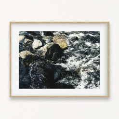 Rushing Water Wall Art Print