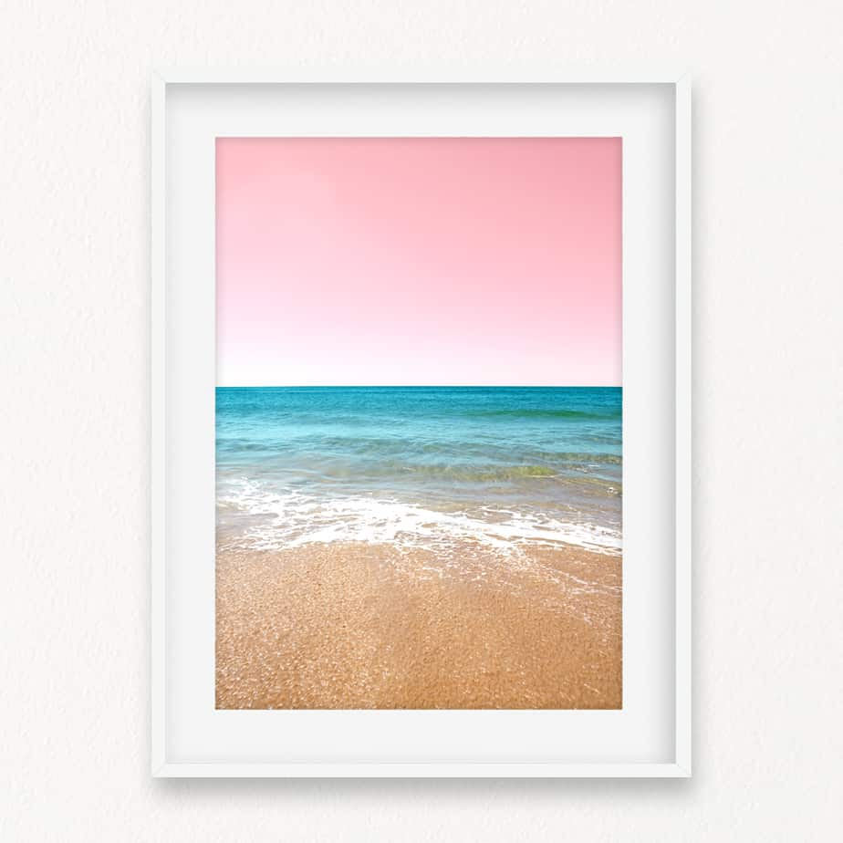 The Beach II Wall Art Print