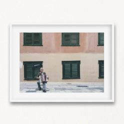 The Busker Wall Art Print