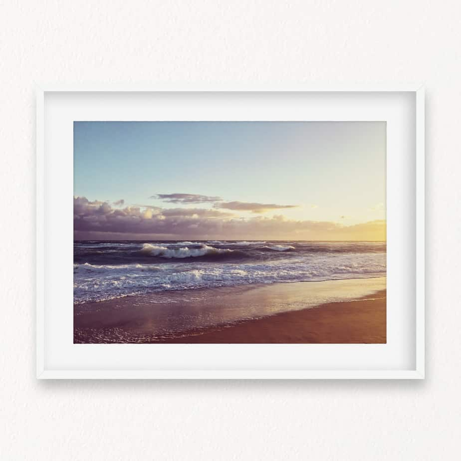 Rough Waters Wall Art Print