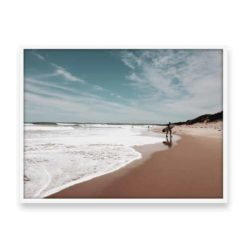 Out of the Waves Wall Art Print
