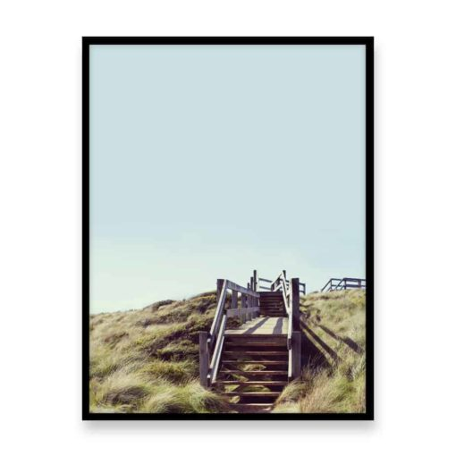Long Way Up Wall Art Print