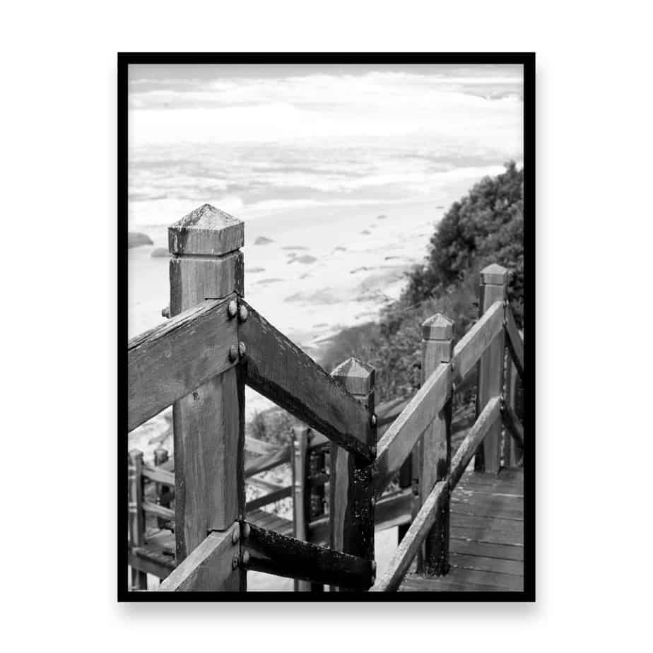 To The Beach II Wall Art Print