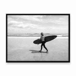 The Surfer Wall Art Print