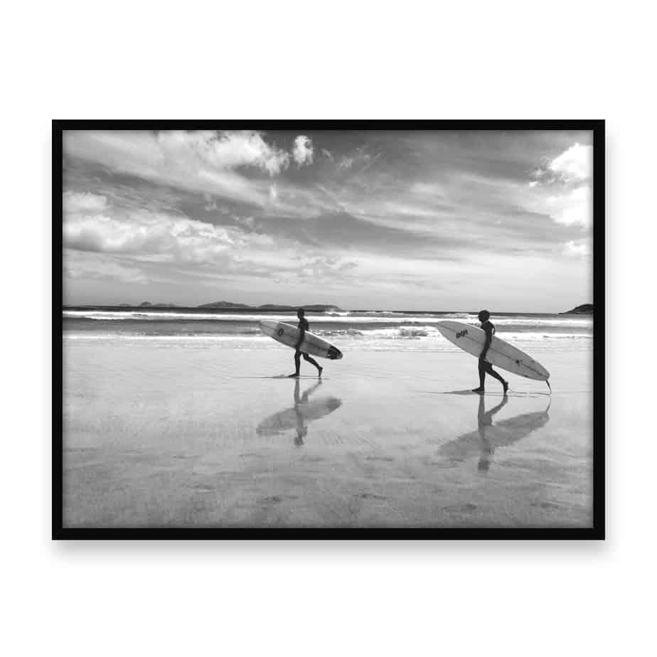 The Surfers Wall Art Print