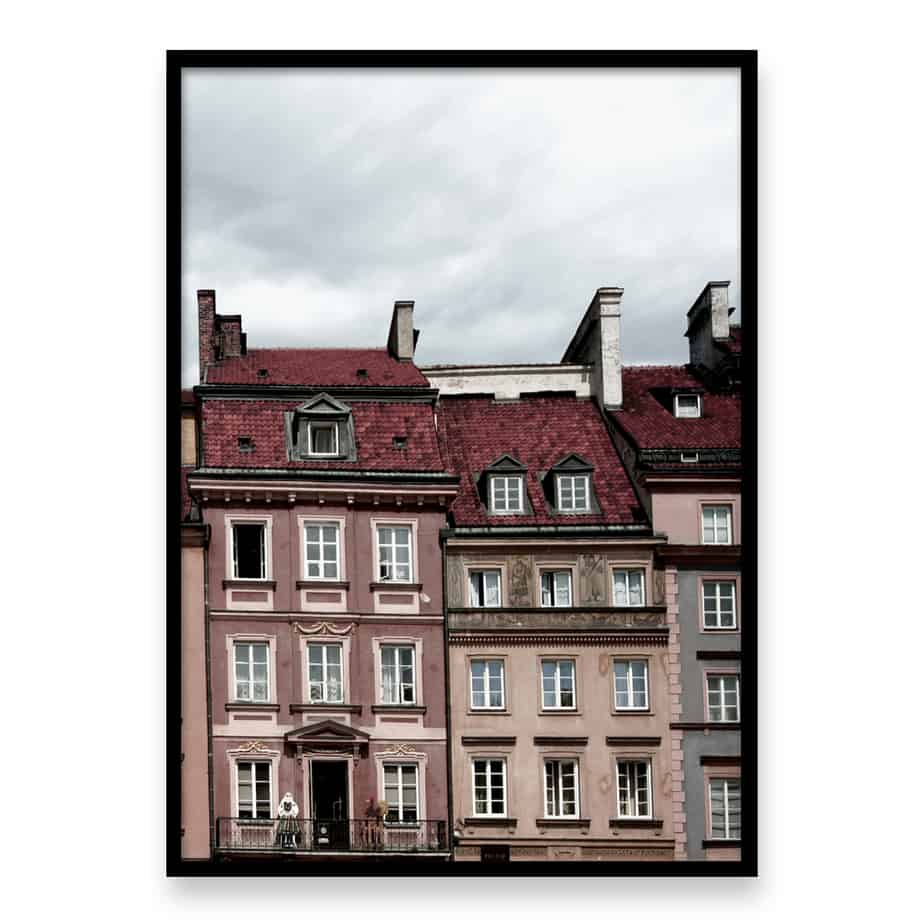 Old Town II Wall Art Print