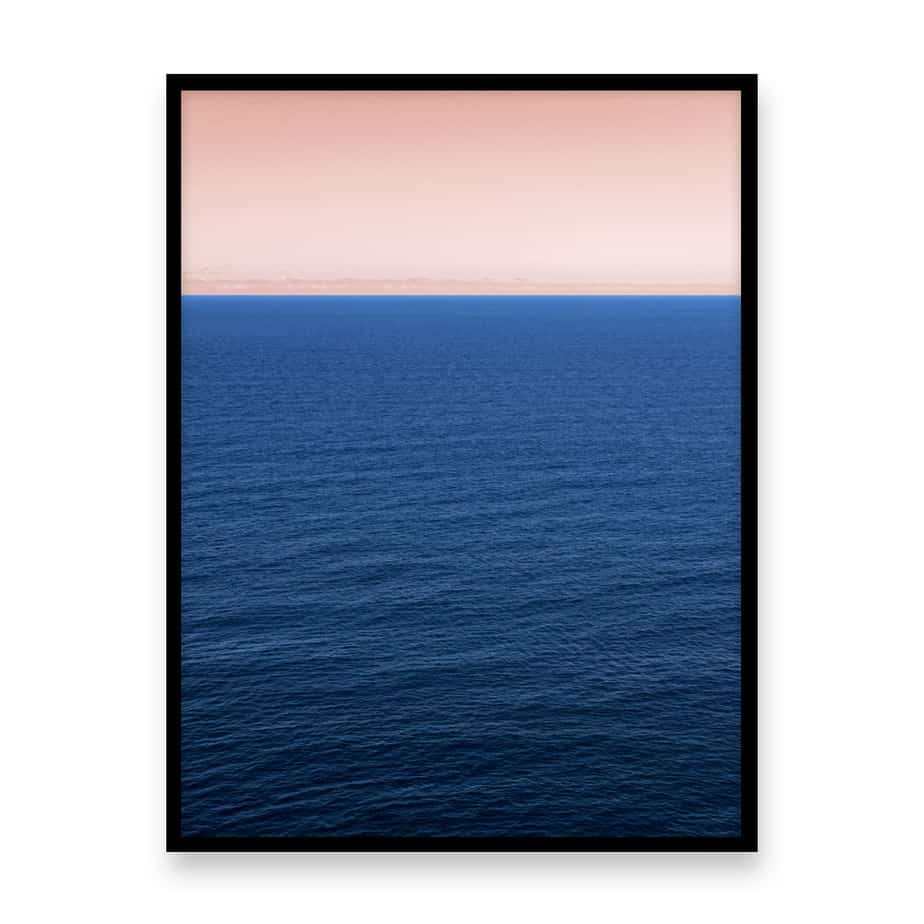 Endless Ocean Wall Art Print
