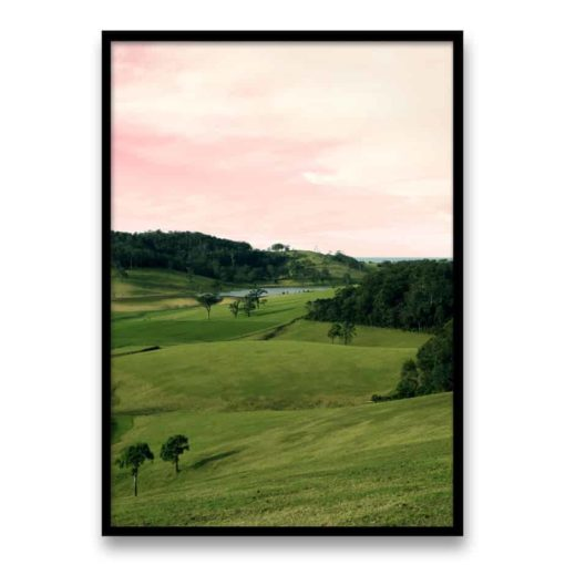 Hillside Wall Art Print