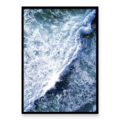 Ocean Wave Wall Art Print