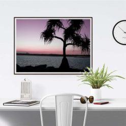 SunsetPalm framed insta 1