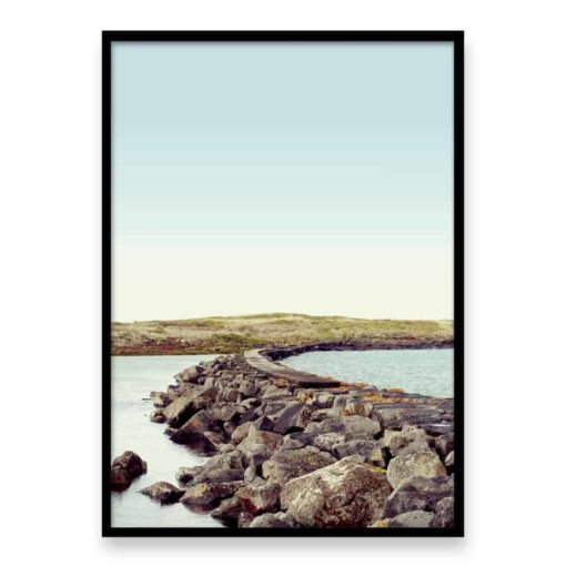 Rocky Path Wall Art Print