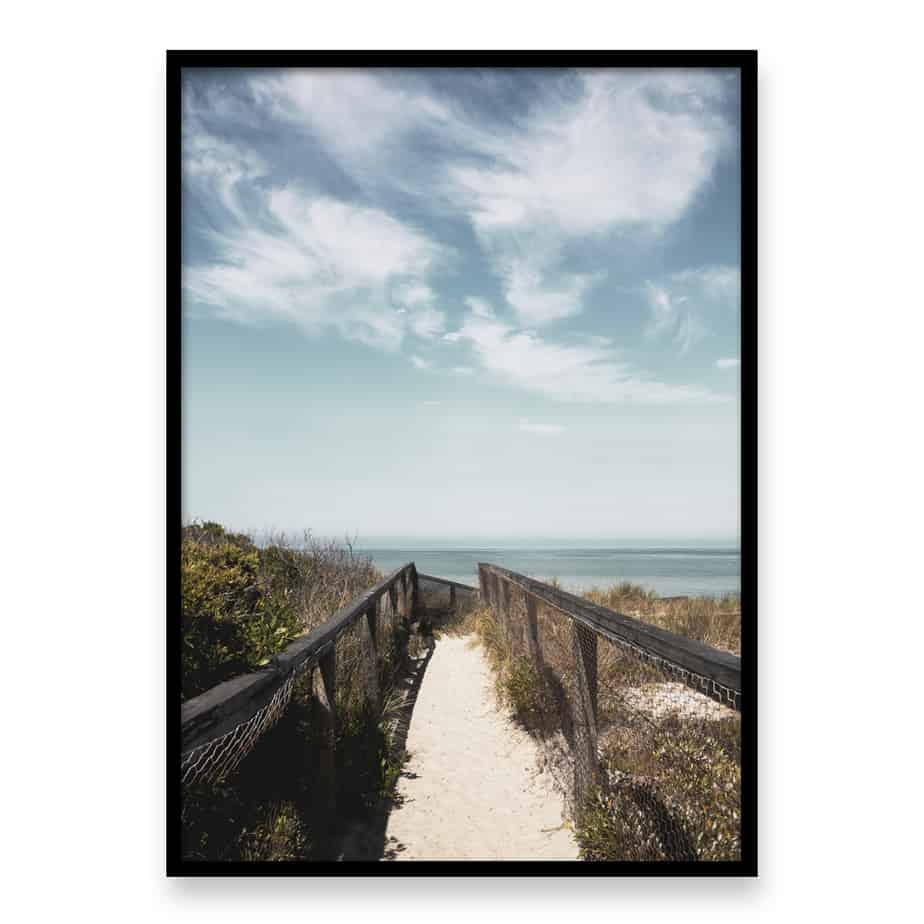 Beach Path Wall Art Print