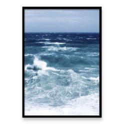 Stormy Seas Wall Art Print