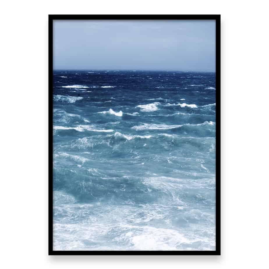 Stormy Seas II Wall Art Print