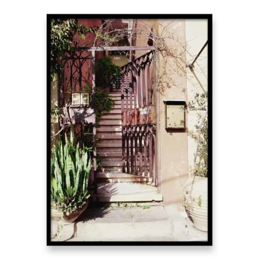 Rusty Gate Wall Art Print