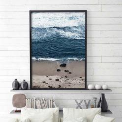 Beach Break Wall Art Print