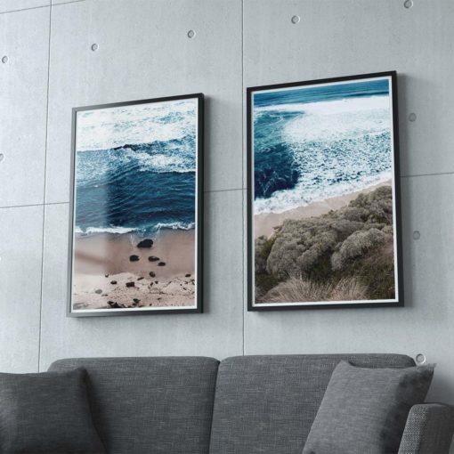 Beach Break 1 & 2 Wall Art Print