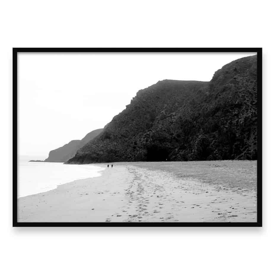 Beach Walk LS Wall Art Print