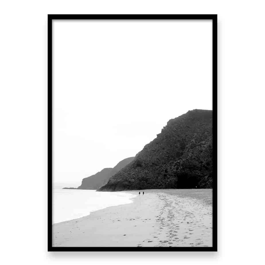 Beach Walk Wall Art Print