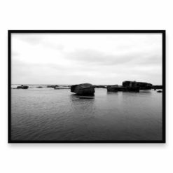 Ocean Rocks Wall Art Print