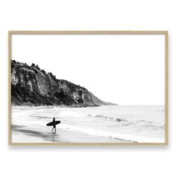 surfer heads out II LS wall art print