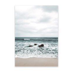 Beach Waves Wall Art Print