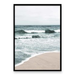 Beach Waves II Wall Art Print