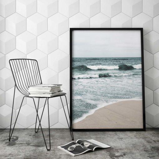 Beach Waves II Wall Art Print