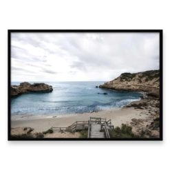Beach View Wall Art Print