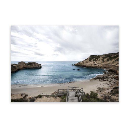 Beach View Wall Art Print