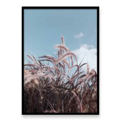 Grass In The Wind Wall Art Print