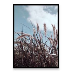 Grass In The Wind III Wall Art Print