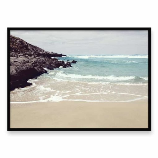 Rocky Beach Wall Art Print