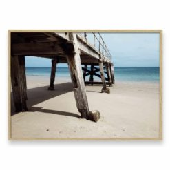 Under the Pier Wall Art Print
