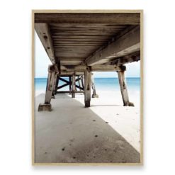 Under the Pier II Wall Art Print