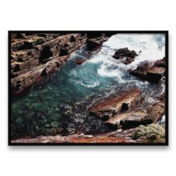 Rocky Waves Wall Art Print